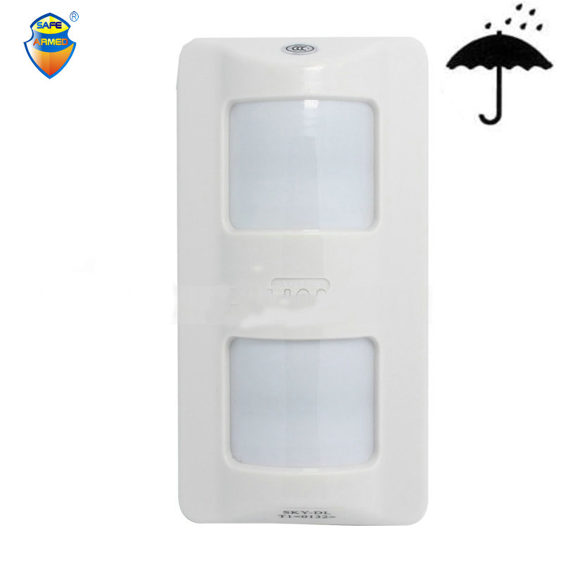 (1PCS) Wired Outdoor 3-infrared intelligent PIR Sensor Outdoor waterpfroof Wide angle Motion detector 0132 free shipping 1 pcs x hc sr505 mini infrared pir motion sensor precise infrared detector module new