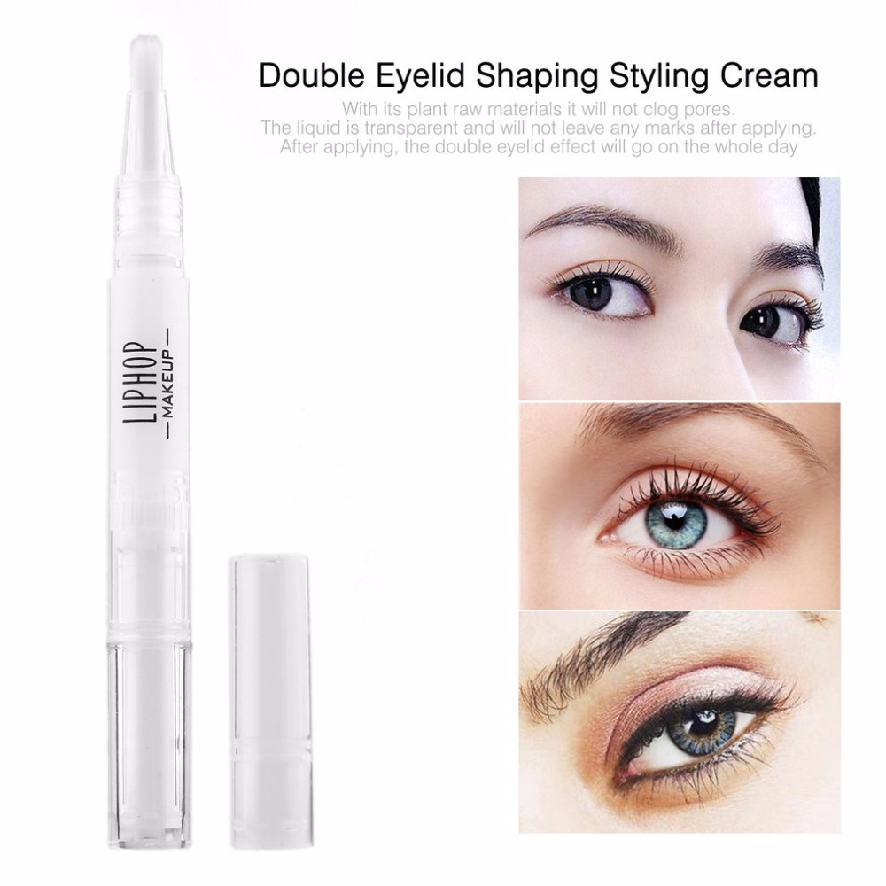 Double Eyelid Shaping Natural Permanent Glue Stick Lasting Invisible Transparent Eyelid Lift Styling Cream Shaping Tools Cheap in Eyelid Tools from Beauty Health