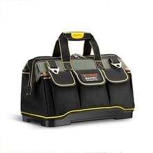 多機能ツールバッグ防水 13 16 18 20 インチ電気技師プロフェッショナルオックスフォード布バッグ大容量キット