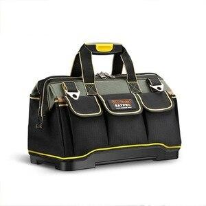 Image 1 - 多機能ツールバッグ防水 13 16 18 20 インチ電気技師プロフェッショナルオックスフォード布バッグ大容量キット