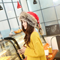 New Thick Fur Warm Autumn And Winder Woolen Hat Scarf  Knitted Mongolia Collar Fashion