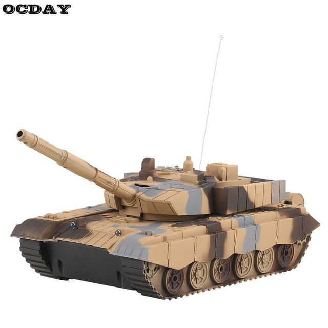 US $19 7 28% OFF|1:20 RC Tank Toy Military Vehicle 4CH Remote Control  Armored Tank Battle Tanks Turret Rotation Light & Music RC Model Kids  Toy-in RC