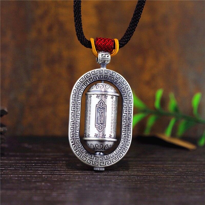 999 bijoux en argent sterling éthique vent sautoir coeur sutra pull femmes mode pop personnalité collier