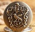 O filme da série Harry Potter Hogwarts Ravenclaw Colégio águia Relógio de Bolso do vintage Colar & pingente melhor presente para o amigo H0017