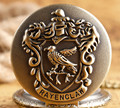 The series movie Harry Potter Hogwarts Ravenclaw College vintage eagle Pocket Watch Necklace&pendant best gift for friend H0017