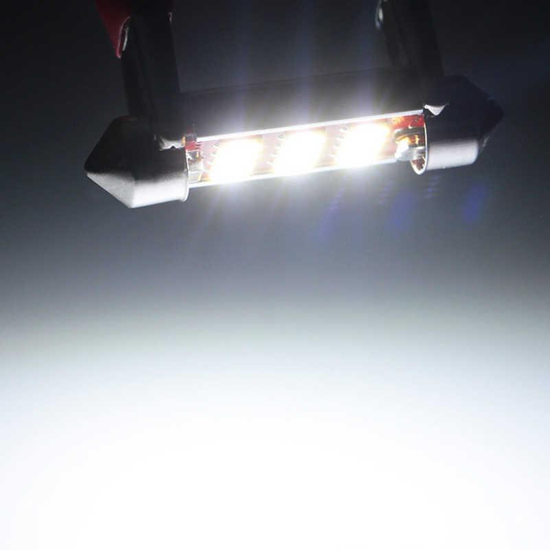 2 шт. 31 мм CANBUS LED светодиодный светодиодных Трубчатых ламп интерьер автомобиля светильник белый, в багажнике Купол Карта светильник лампа для Mazda 3 6 2 5 2012 2013 2014 2015
