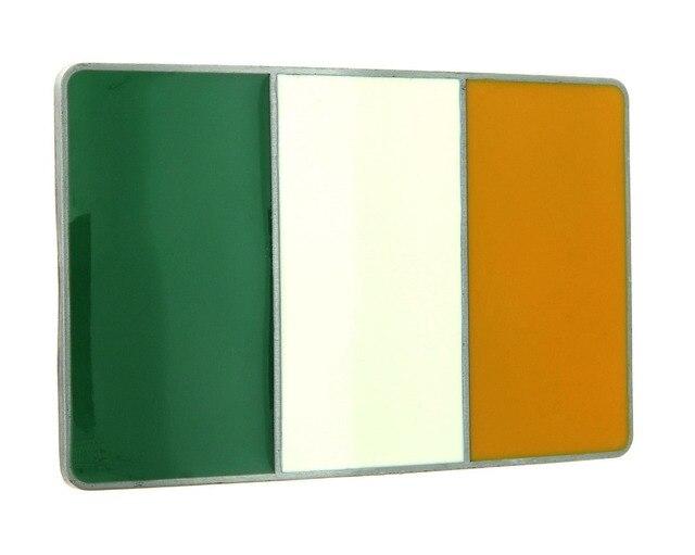 goedkope ierland ierse vlag emaille gesp hoge kwaliteit maatwerk