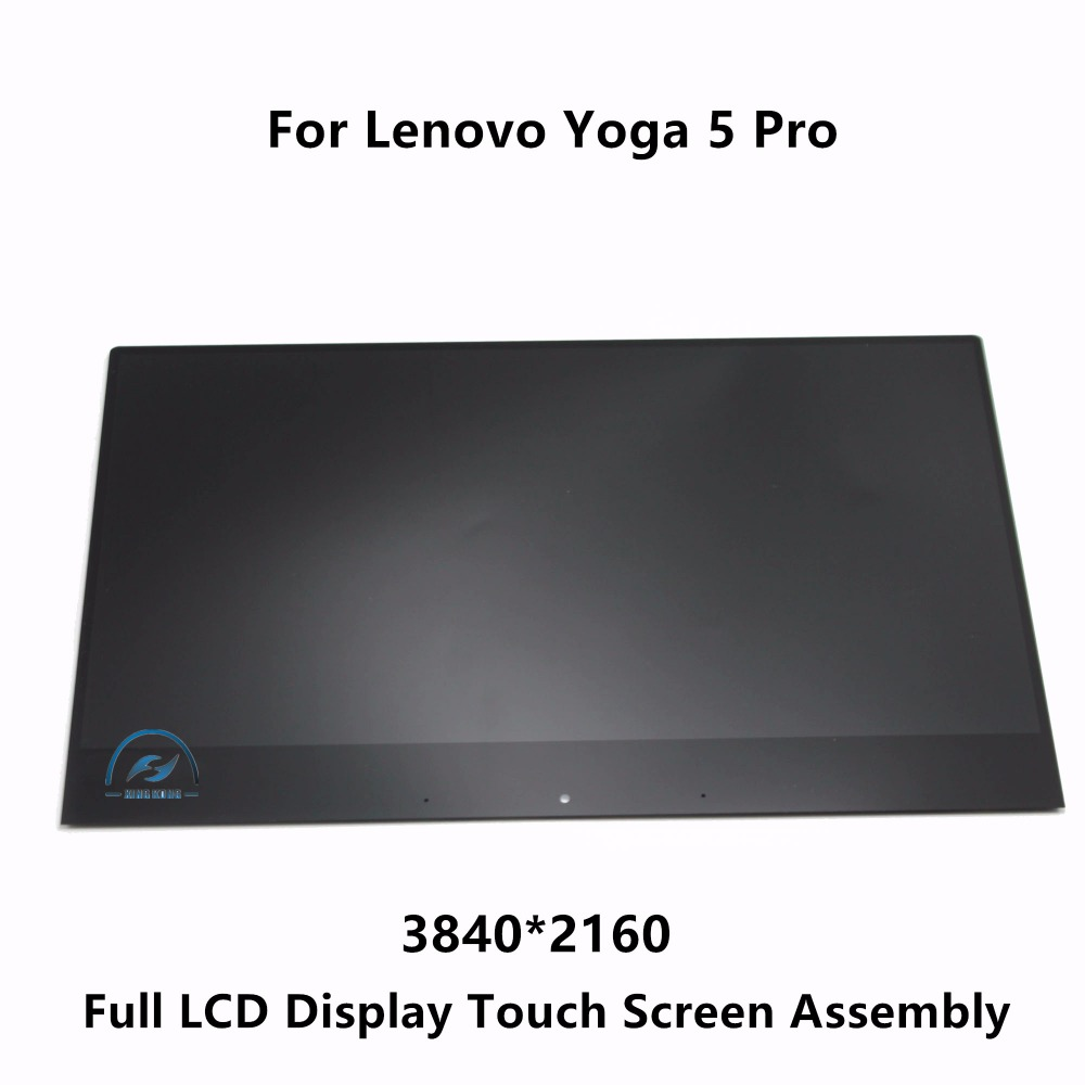 13.9'' Full LCD Display Screen Touch Digitizer Glass Assembly For Lenovo Yoga 5 Pro 4K UHD IPS Multi-touch 3840X2160 & 1920X1080 5 0 lcd display screen touch glass digitizer assembly for lenovo vibe p1m pantalla free shipping