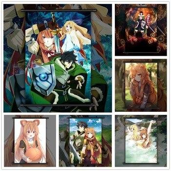 Tate no Yuusha no Nariagari Anime pared cartel desplazamiento