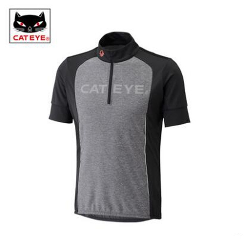Cycling Jerseys CATEYE bike wear short sleeved choker shirt in summer t-shirt men and women fast dry air bicycle equipment