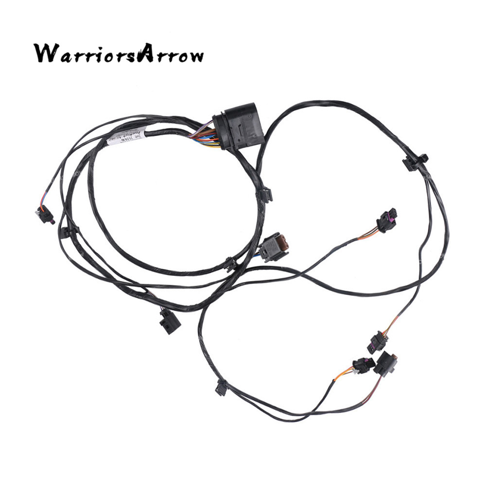 front bumper pdc parking sensor reserve sensor line wiring wire harness cable for for volkswagen
