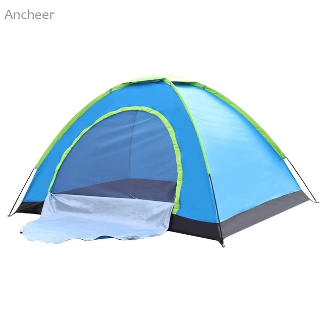 Ancheer New Waterproof Tent 2 Person Pop-up Tent Automatic Instant Setup Outdoor C&ing Tent  sc 1 st  AliExpress.com & Ancheer New Waterproof Tent 2 Person Pop up Tent Automatic Instant ...