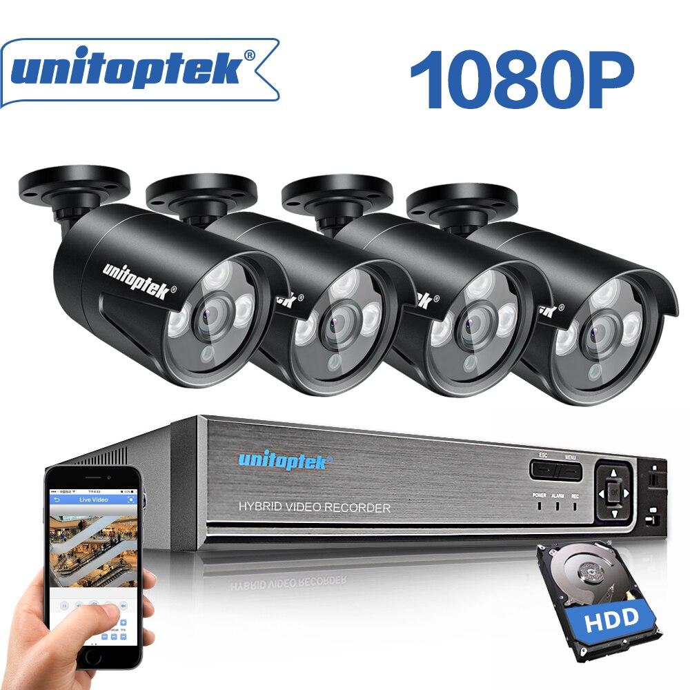 Plug And Play 4CH 4MP 48 V POE NVR système de vidéosurveillance 2.0MP intérieur extérieur caméra IP P2P IR Kit de Surveillance de sécurité FULL HD