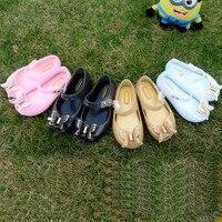 3D 나비 소녀 젤리 샌들 2017 샌들 젤리 신발 PVC