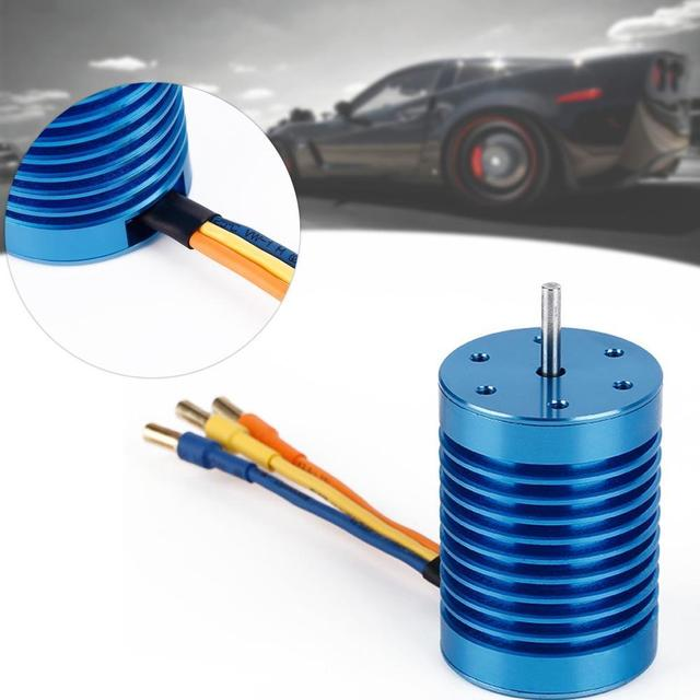 3650 3930KV 12 Slot Hi-torque Sensorless Brushless Motor for 1/10 Racing Car A676