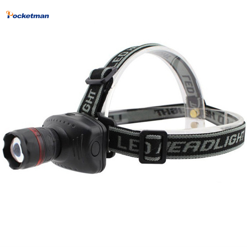 LED Headlamp 3 Modes Energy Saving Outdoor Sports Camping Fishing Head Lamp Zoomable linternas frontales cabeza headlight