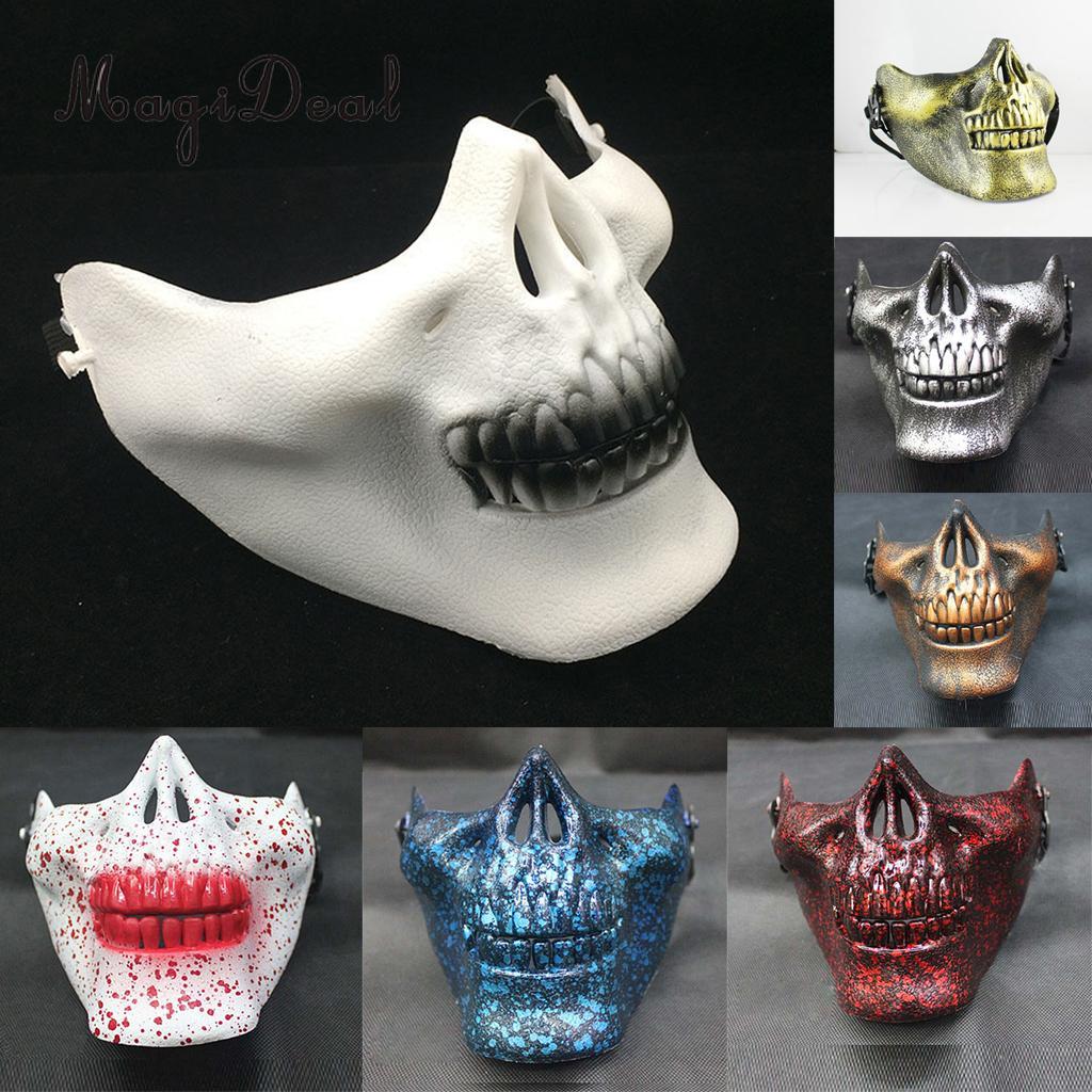 Popular Half Skull Mask-Buy Cheap Half Skull Mask lots from China ...