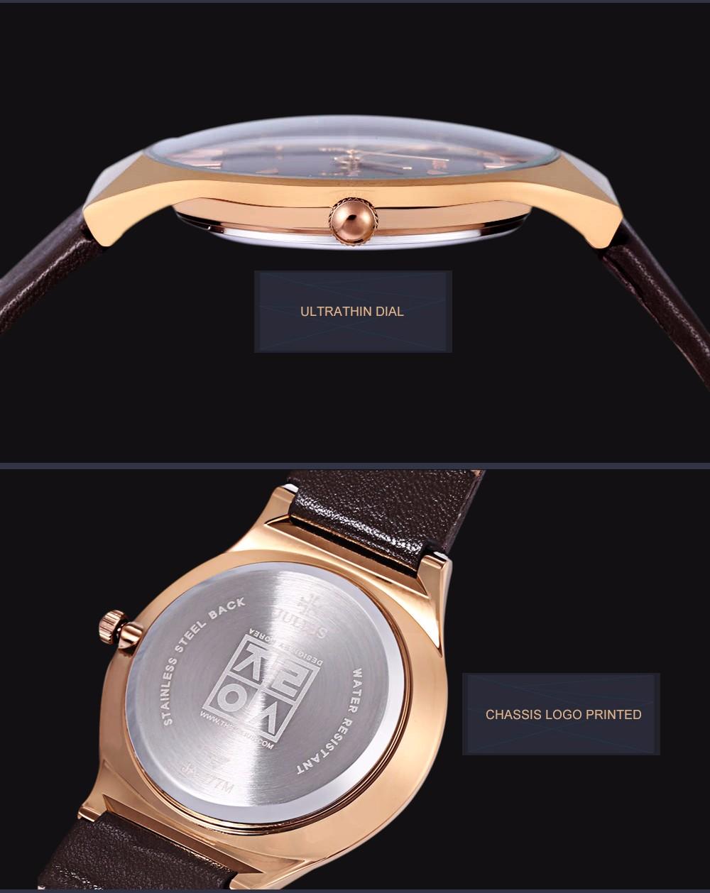 Julius Men Watch Stainless Steel Band Analog Display Quartz Wristwatch (11)