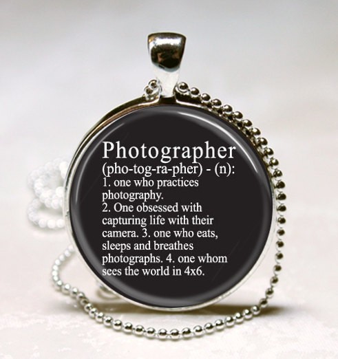 Photographer Dictionary Definition Photography Camera