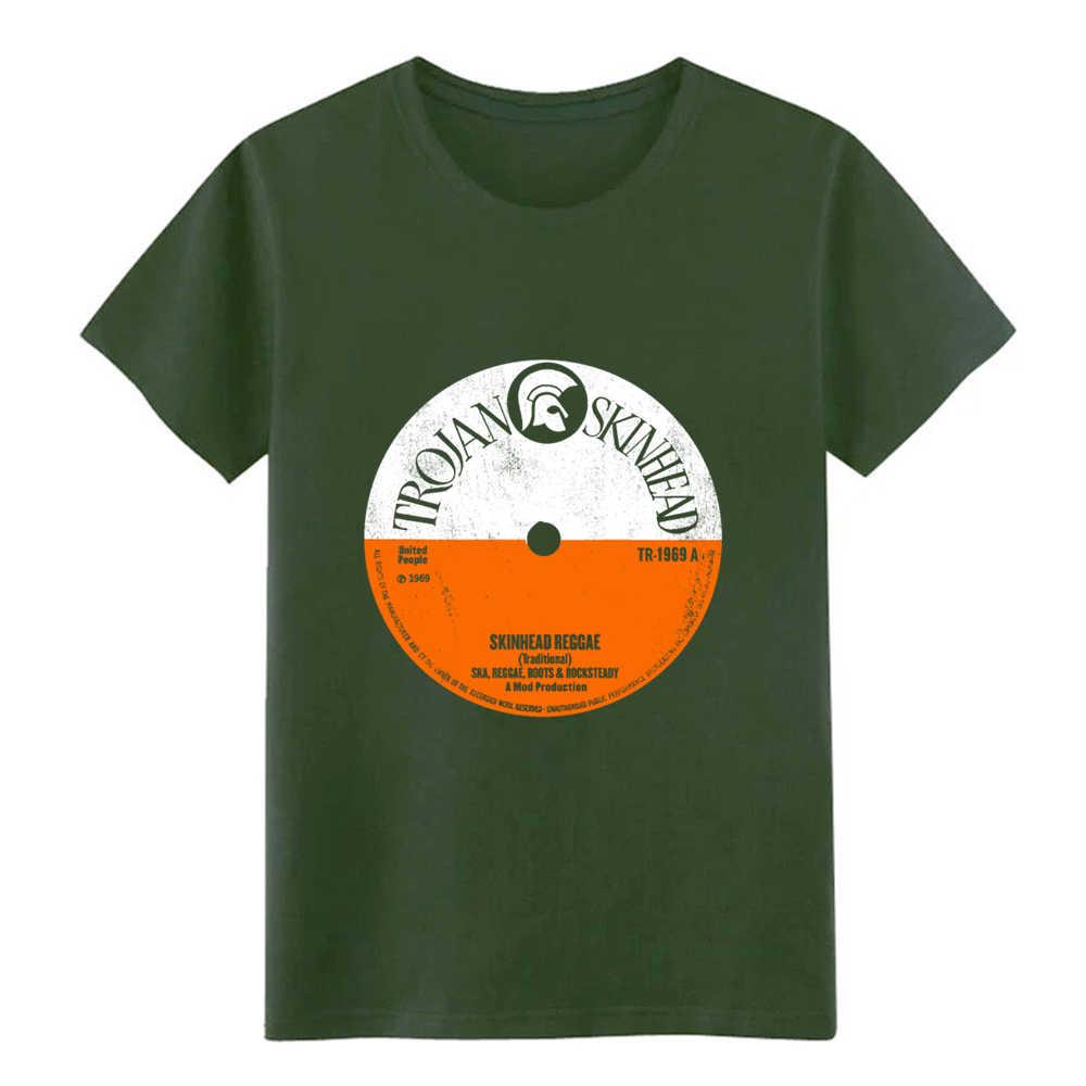 Trojan skinhead reggae skinhead kleding ska t-shirt Aangepaste tee shirt maat S-3xl mannelijke Fitness Casual Lente Familie overhemd