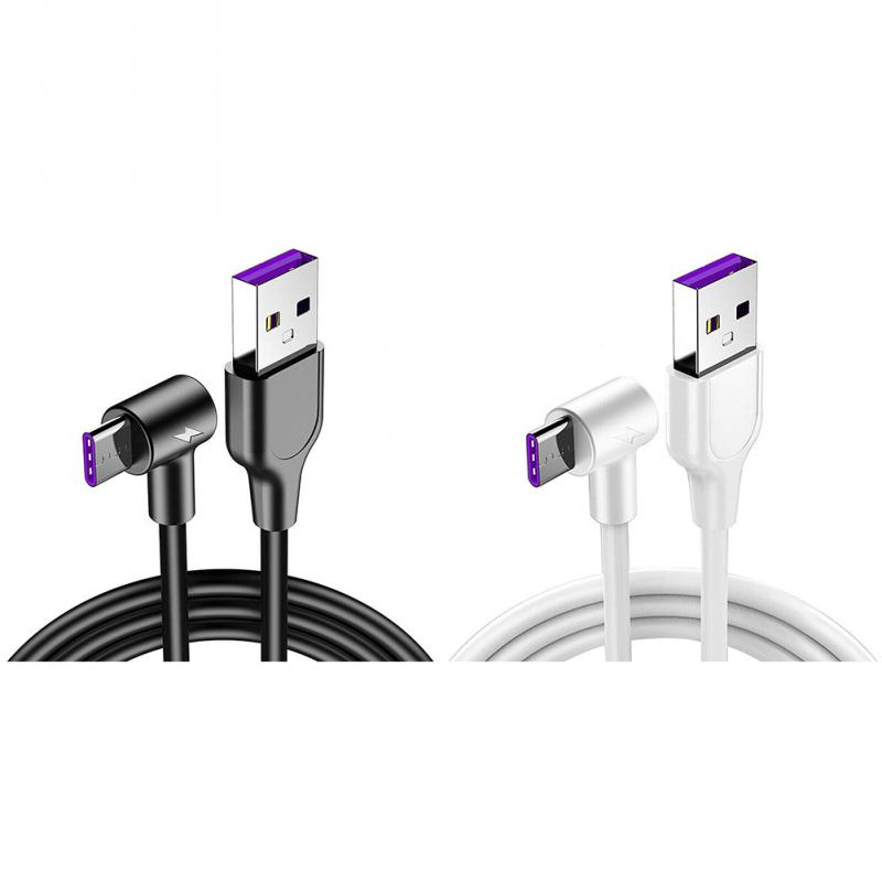 Type-C-Cable Flexible Fast-Charging Double-Sided USB Safety-Data-Super-90 Powerful Anti-Abrasion