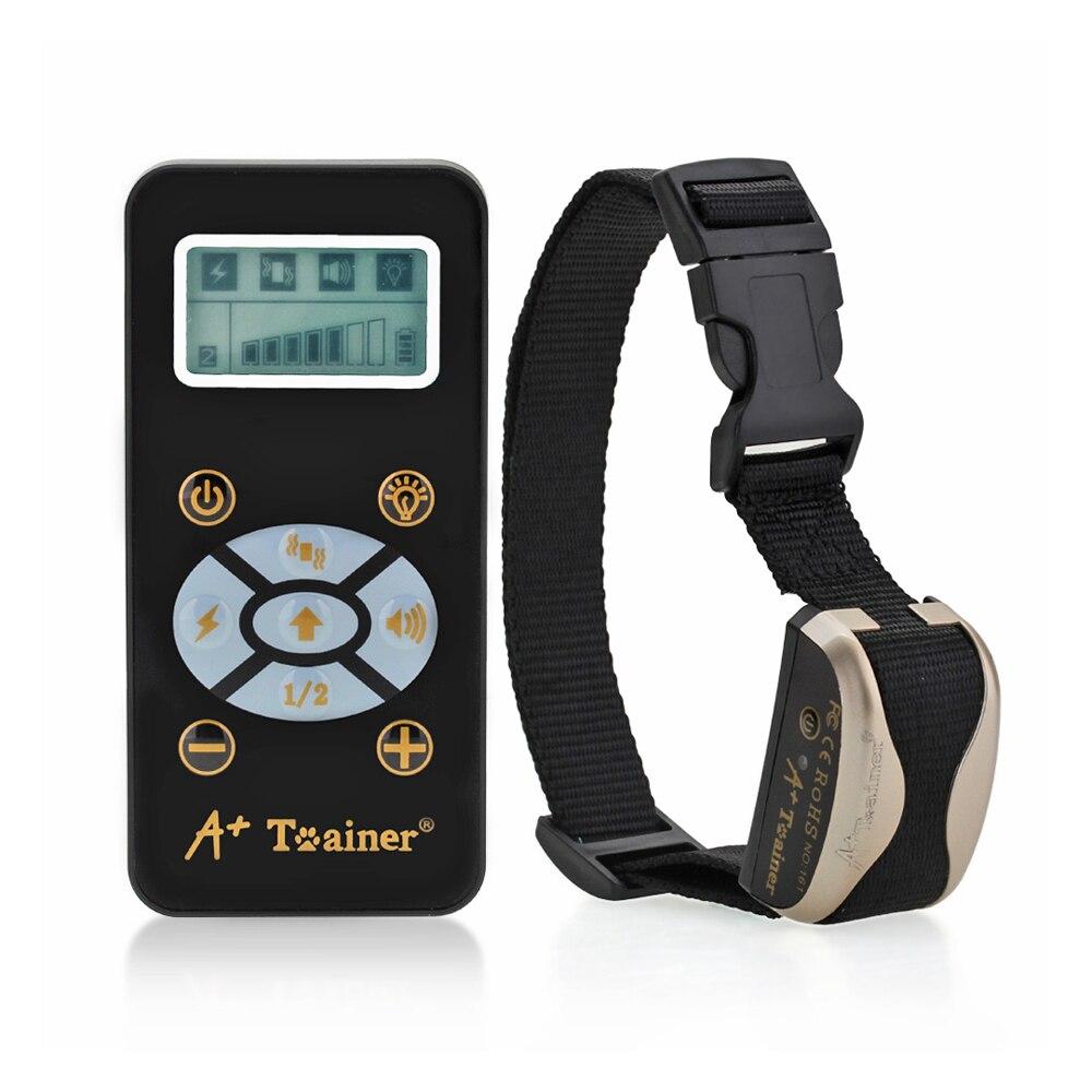Nouveau collier de dressage pour chien entraîneur électrique télécommande sûre pour animaux de compagnie chien fournitures pour animaux de compagnie produits récepteur + collier