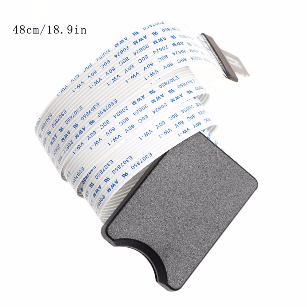TF Micro SD To SD SDHC SDXC Flexible Extension Adapter Cable For Car GPS TV  New Hot