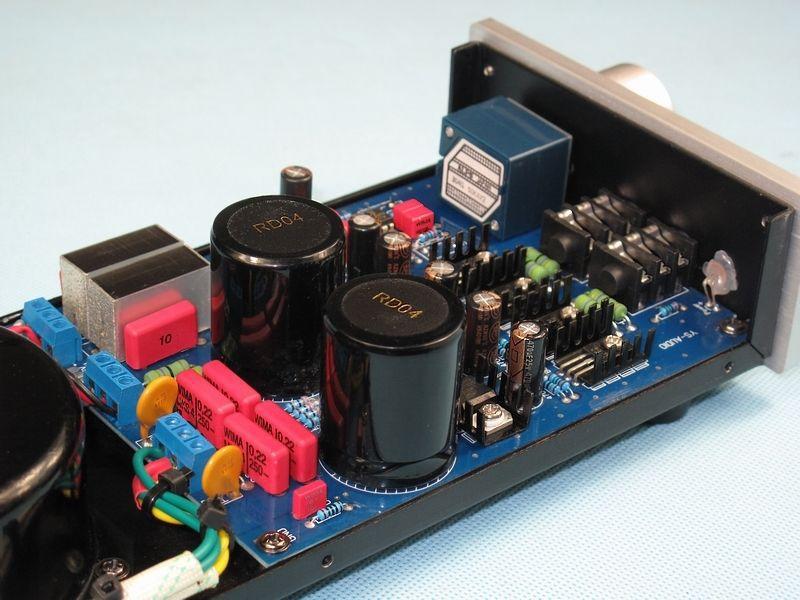 Kopie lehmann schaltplan E-01 Audio stereo Kopfhörer verstärker Dual ...