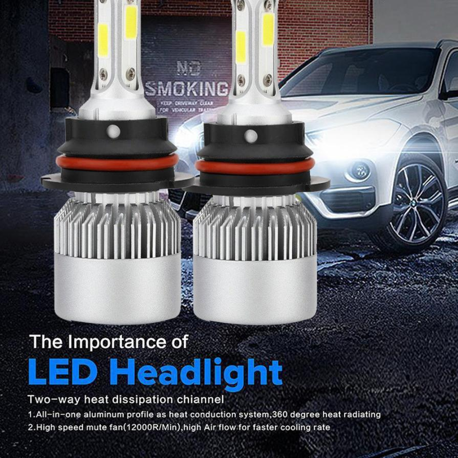 Willtoo Newest 9007 110w 16000lm Led Headlight Conversion Kit Car Beam Bulb Driving Lamp 6000k Ip68 Waterproof Head Lights Reputation First Automobiles & Motorcycles Car Headlight Bulbs(led)