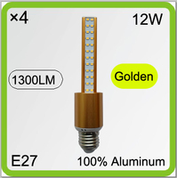 Manufacturer 4 PACK 120V 220V 230V 240V Aluminum 12W Vintage Led Corn Light Led Tube Led