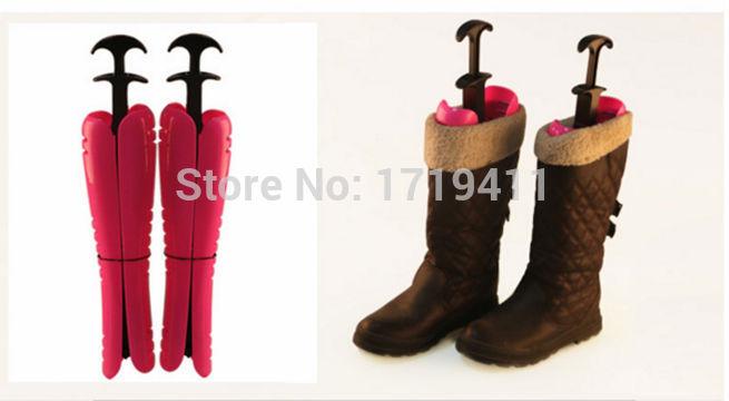 12 дюймов до 16 дюймов 1 пара надувные полезные длинные загрузки колодки стенд держатель носилки поддержка пластиковые ботинки формы учета 008
