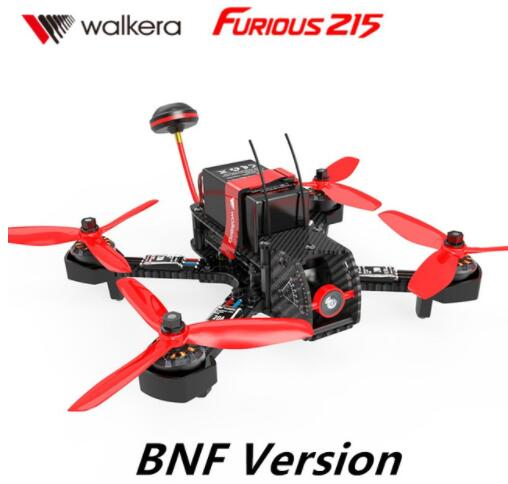 Walkera Furious 215 BNF Version (without transmitter )with 600TVL Camera RC Quadcopter Racing Drone (With Charger And Battery) walkera rodeo 150 bnf without transmitter rc racing drone with 600tvl night vision camera 150 size