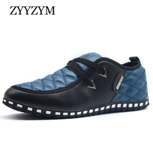 ZYYZYM Men Casual Shoes PU Leather Fashion Trend Light Flat Driving Loafers Shoes For Man Hot Sales zyyzym men casual shoes pu leather fashion trend light flat driving loafers shoes for man hot sales