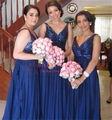 5026 2016 Chiffon rosa / Light Champagne lantejoulas vestido de dama de honra cliente fez US4-6-8-10-12-14-16-18-26W