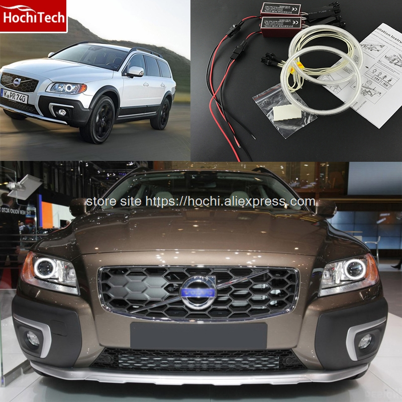 2012 Volvo Xc70: HochiTech Excellent CCFL Angel Eyes Kit Ultra Bright