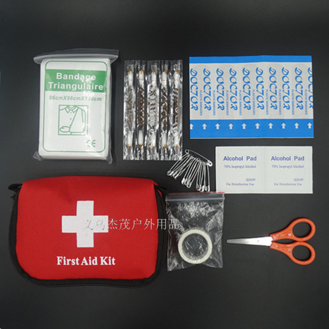 US $3 39 51% OFF Aliexpress com : Buy Hot Sale 8 Pcs/Set First Aid kit  Survival Emergency First Aid Kit bag Outdoor Travel Small Car First Aid Kit