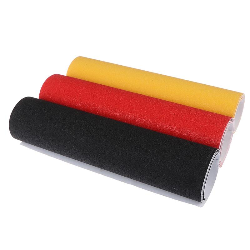 Professional PVC Waterproof Skateboard Deck Sandpaper Grip Tape Griptape Skating Scooter Sticker  84*23CM