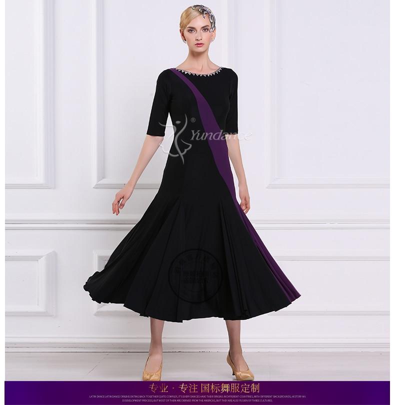 Дамское индивидуальное бальное танцевальное платье для девочек Вальс Танго танцевальные платья женские стандартные фламенко сценические бальные костюмы D 0402