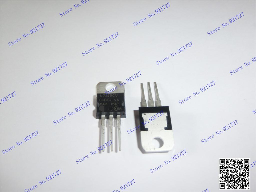 L7812cv 7812cv L7812 To220 20 StÜcke Aromatischer Geschmack Elektrische Ausrüstungen & Supplies Spannungsregler/stabilisatoren