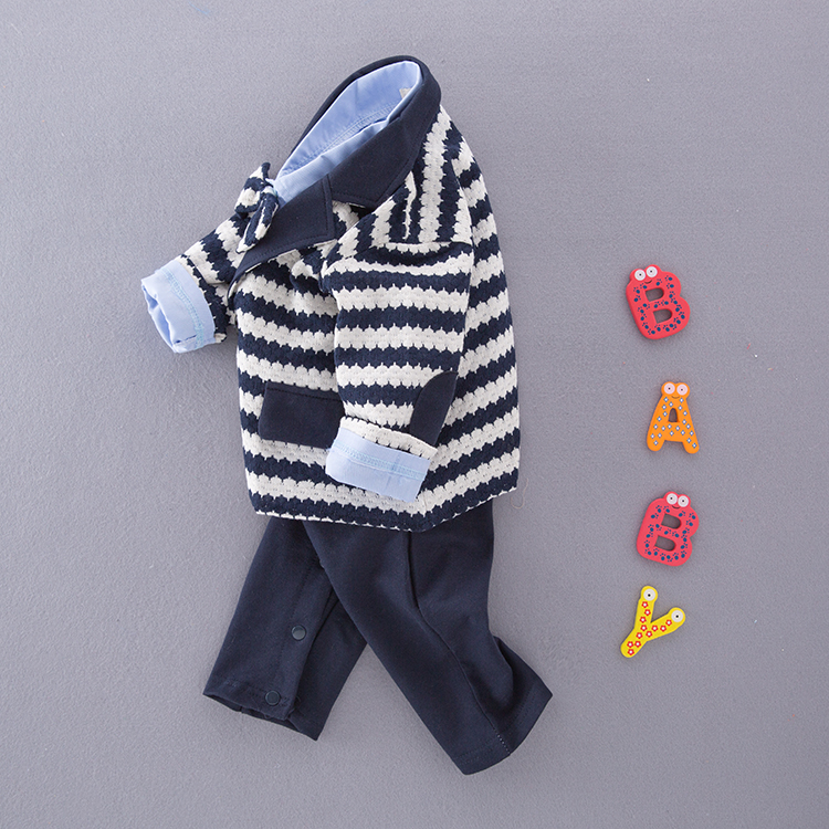 Boys Newborns clothing Body suit Cotton Baby Boy SetsInfant Critical Gentleman Bow Long Sleeve Weddings Birthday party Clothes in Clothing Sets from Mother Kids