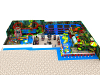 kids indoor playground park children fun city YLW IN171061