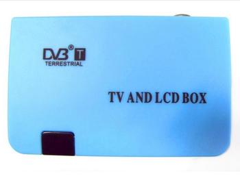 цена на Newest Digital TV AND LCD Box VGA/AV Tuner DVB-T FreeView Receiver DVB VGA 02 for PC monitor TV sets DVBS901