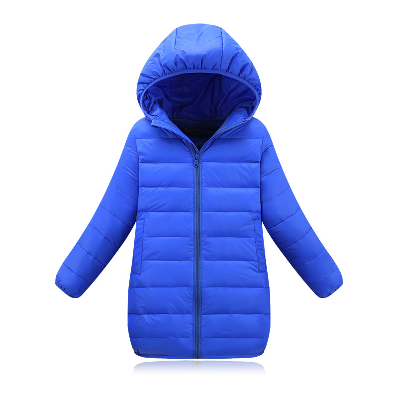 Kids Winter Coats 2018 Solid Candy Color Children's Down Jackets Coats Cotton-padded Girls Winter Coat Jacket Children Outerwear new 2017 men winter black jacket parka warm coat with hood mens cotton padded jackets coats jaqueta masculina plus size nswt015