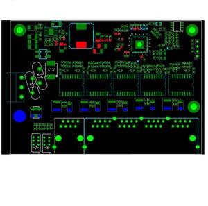 Image 5 - Não gerenciado 5 porta 10/100 M módulo switch Ethernet industrial placa PCBA OEM Auto sensing Portas placa PCBA OEM Motherboard