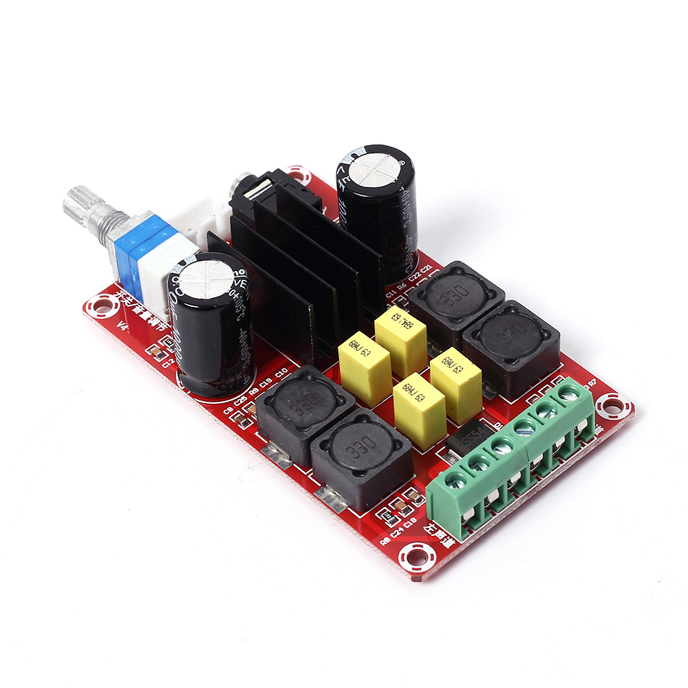 Xh M189 Tpa3116d2 Digital Power Amplifier Board Dual Channel Stereo 2x100w Class D Circuit Hip4081a 200w Overvoltage Large Capacity Capacitor Audio In Integrated Circuits From