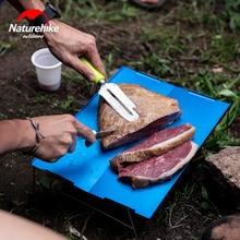 Naturehike ультра-светильник, складной стол из алюминиевого сплава, уличный прочный светильник из нержавеющей стали, стол для кемпинга, портативный чайный столик