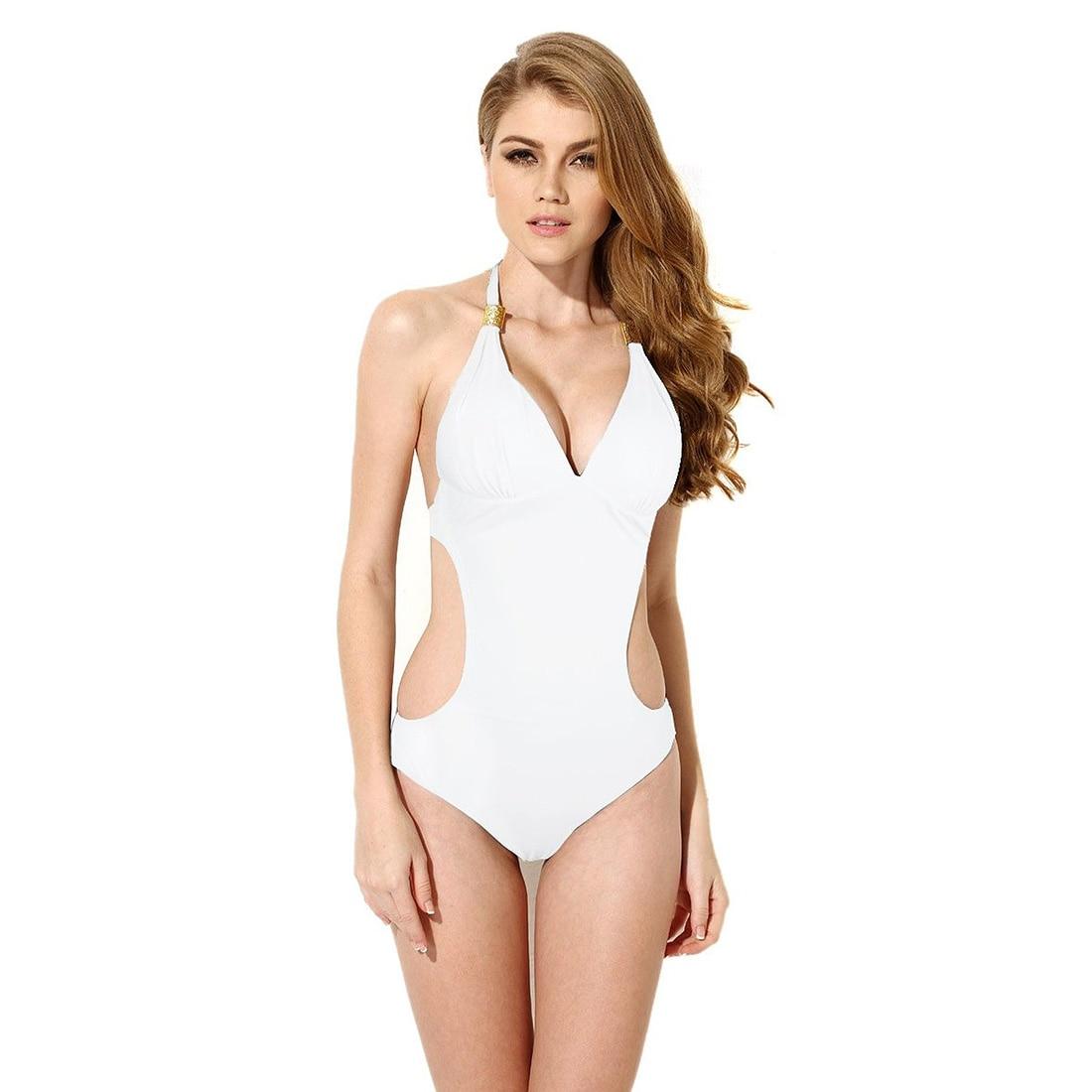 1 Piece Naked back Bikini Swimsuit