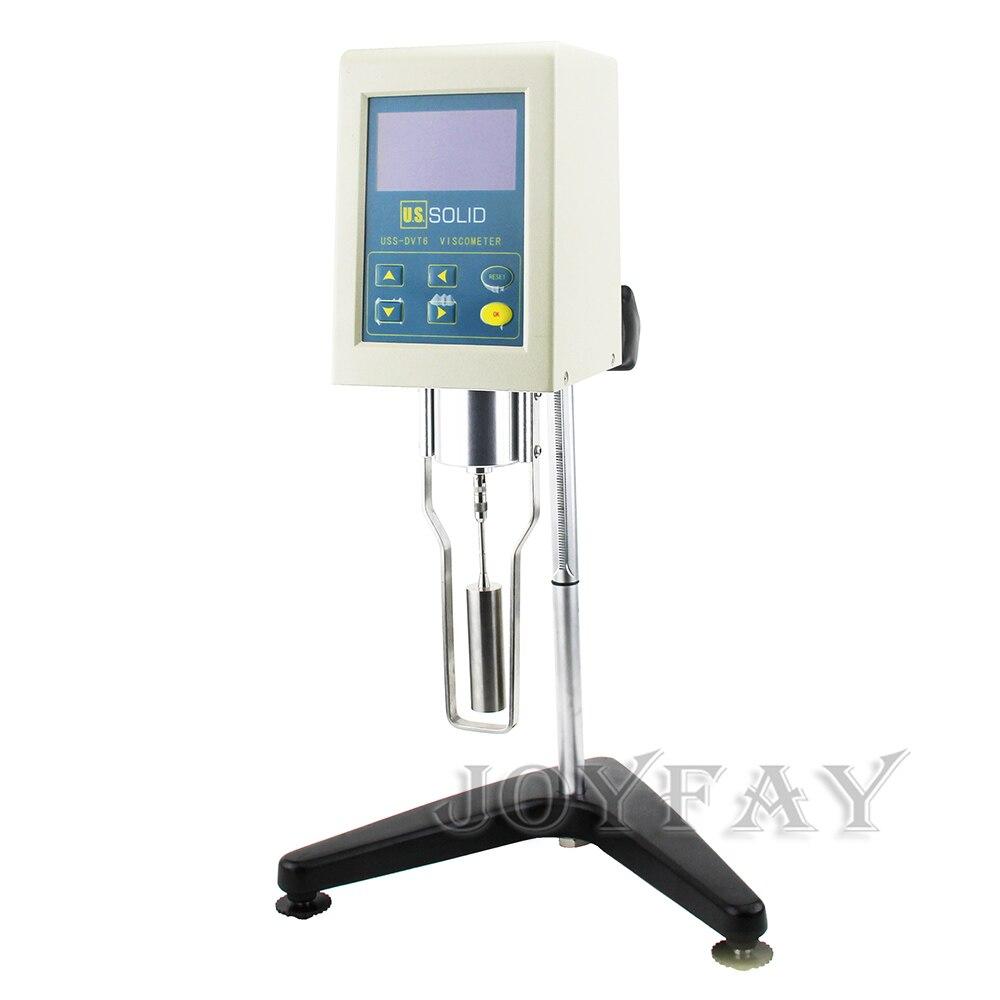 U.S.Solid Rotary Viscometer Viscosity Meter LCD Display Screen 1-10^5 mPas 110 V - 240 V rotary viscosimeter viscometer viscosity tester meter ndj 1