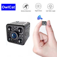 Mini Camera IP Wifi Wireless Infrared Camera Full HD 1080P Night Vision Motion Detection CMOS Sensor Camcorder APP Remote View