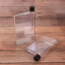 Drinking-Water-Bottle Notebook Sport Plastic Creative 1-Pc Paper-Scrub Handy Cu A5/A6